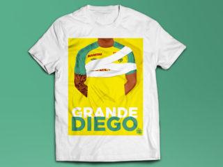 T-shirt Diego Grande FC Nantes & Terribles Nantais